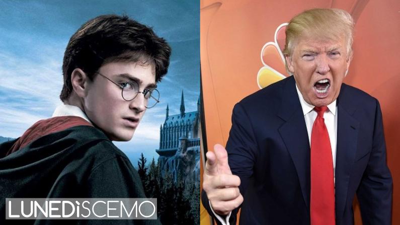 Harry Potter vs Donald Trump: lunedì scemo, uno scemodì